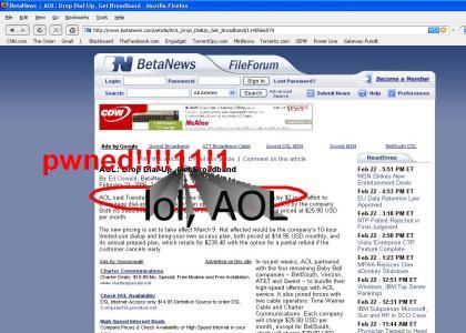 AOL pwnz