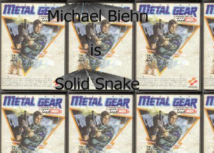 Michael Biehn in Metal Gear: The Movie