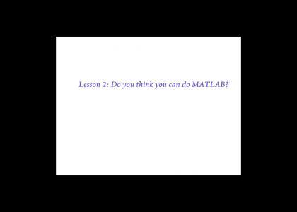 KOENTMND: Lesson 2 - MATLAB