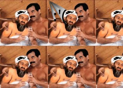 Saddam and Osama cant have a long distance Relationship