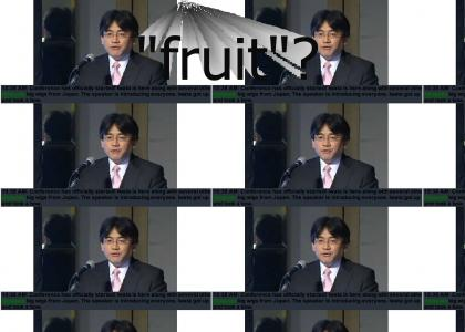 THIS JUST IN: IWATA BOWS