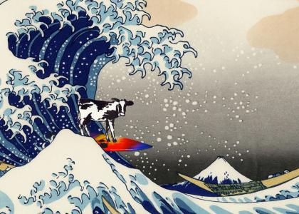 Surfin' Cow