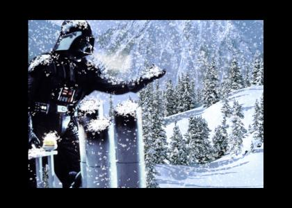 Darth Vader gets his Christmas wish