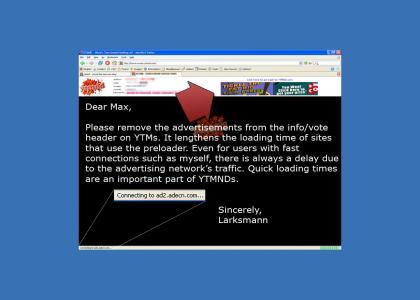 Max, please remove the laggy ads