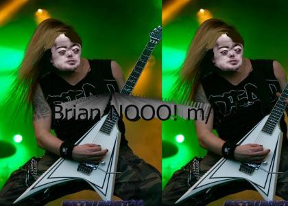 Brian Peppers is METAL!