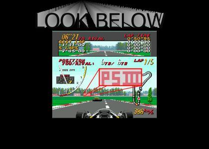 Super Monaco GP: Sega predicted the PS3!!!!