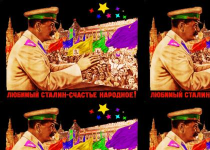 Rainbow Stalin Rave