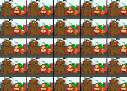 Donkey Kong Hates Hygene