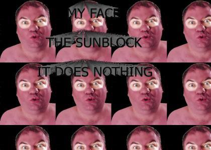 NASB - no amount of sunblock