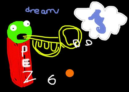 How I did dream seahorseys by ROY4L, age 9