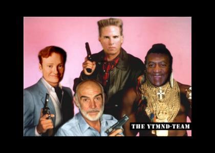 The YTMND Team(anti-scientology squad) mullet
