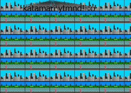 Katamari YTMND Damacy! (let sound load/refresh)