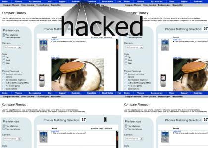 Nokia hacked.