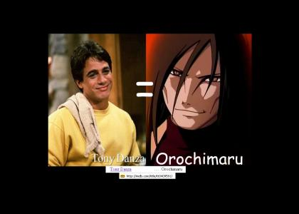 Tony Danza is Orochimaru