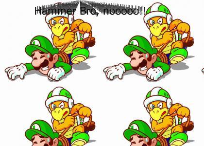 Luigi is... Raped.