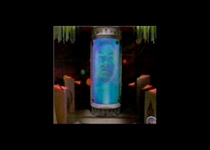 Zordon Doesn't Change Facial Expressions!