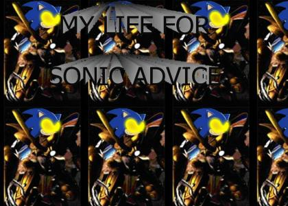 Sonic with Protoss Advice