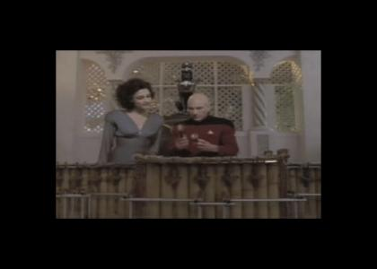 Picard learns music!