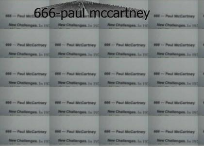 Paul McCartney Is The Devil