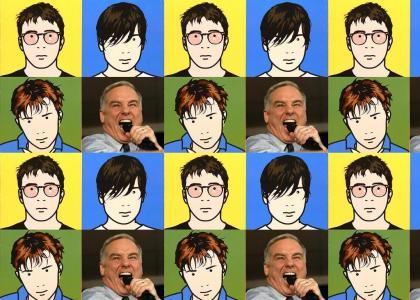 Howard Dean's speech with MORE Blur