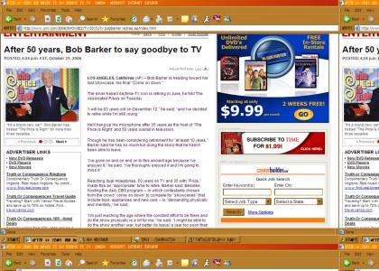 Bob Barker retires