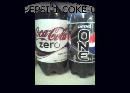 Pepsi-1 Coke-0