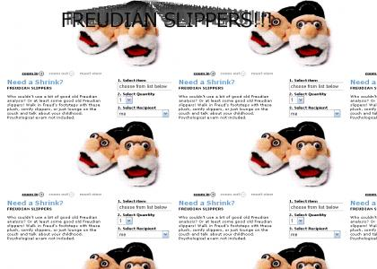 Freudian Slippers!!!