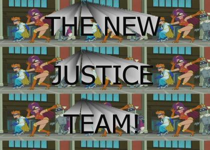 Go Go Go New Justice Team (Futurama)