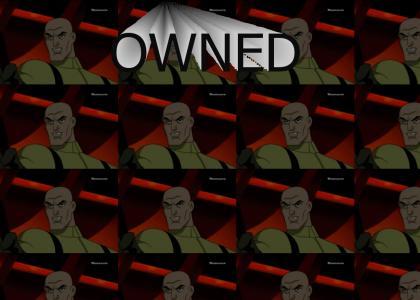Lex Luthor Kills Gorilla Grod