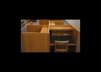 OMG, Secret Nazi Study Desk!