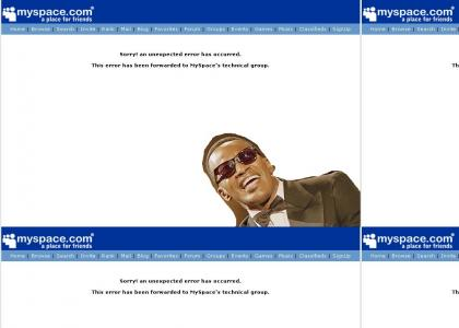 Ray Charles Can't See Myspace