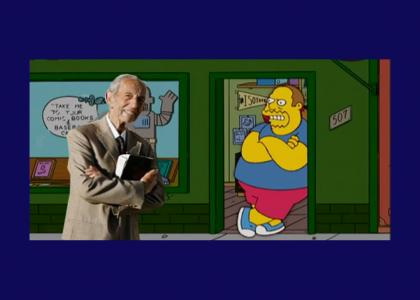 Comic Book Guy mocks Harold Camping