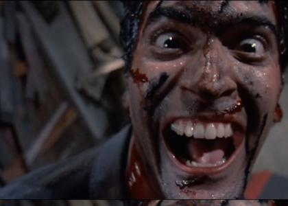 Bruce Campbell Stares Into Your Soul