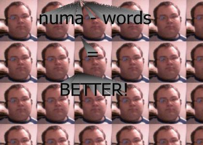 numa numa is better with no words