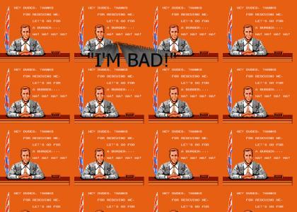 Bad Dudes Ending