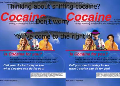 Cocaine Sniffers... This is for You