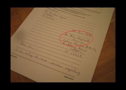 Miles Edgeworth helps me in an English exam (Phoenix Wright)