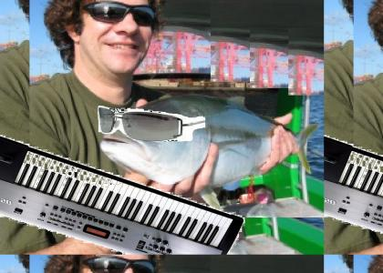 Dean Ween's fish plays another song I wrote and performed myself in Apple GarageBand