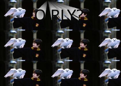 O RLY? Hedwig