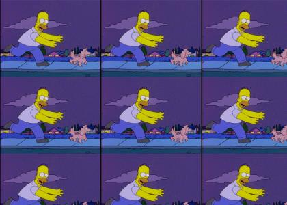 Nobody gonna break homer's stride