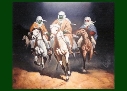 Teenage Mutant Ninja Turtles in Arabian