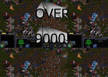 Zerg over 9000
