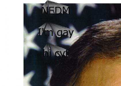 I'm gay (NOW WITH NEDM)