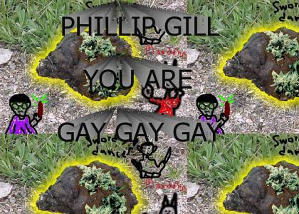 Phillip Gill is Gay