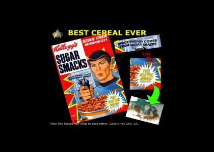 Spock's Breakfast Cereal