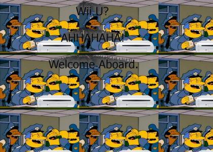 Chief Wiggum Reacts to Wii U