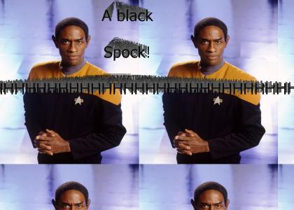 A Black Spock!