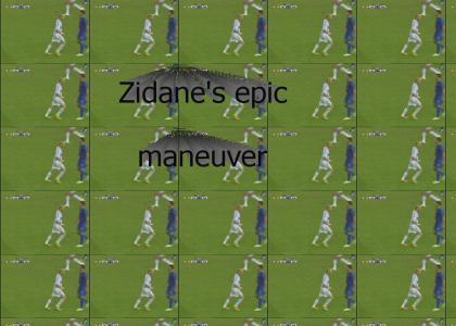 Zidane performs epic maneuver