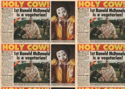Ronald Mc Donald Fails at life