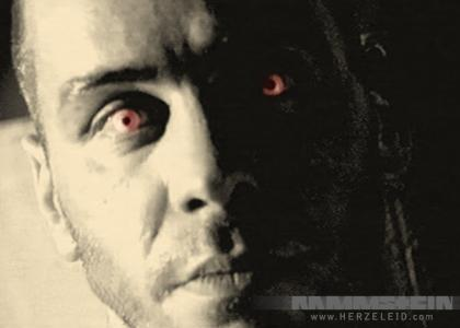 Till Lindemann stares into your soul